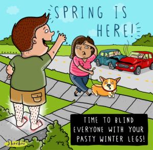 Springtime Humor