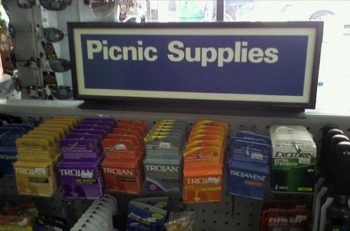 picnic condoms