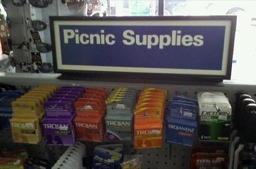 picnic condoms