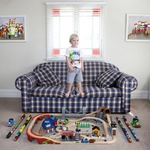 Lucas lives with his parents and his sister in a big house in the east part of Sydney, Australia. The first toy that his father gave to him two years ago is a little train. Since that moment Lucas loves little trains and He has a lot of them. His favourite one is the one made of wood. He always plays with that and he says that his dream is to work in the subway of Sydney.