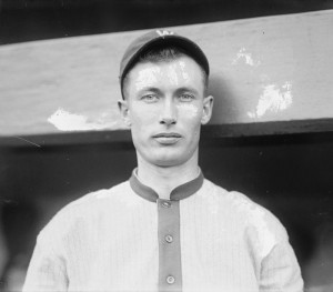 """""""Sam Rice portrait"""" by Bains News Service - Library of Congress. Licensed under Public Domain via Wikimedia Commons"""