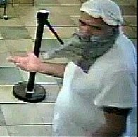 This man attempted to rob a Subway in Coventry, Rhode Island. | Credit: Coventry Police Department