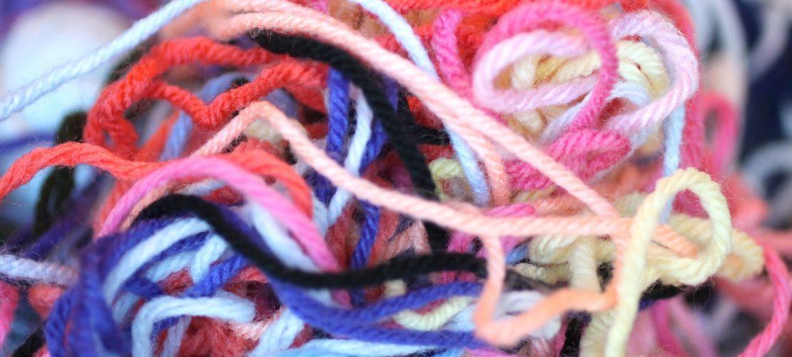 craftedbytw.com pile of yarn