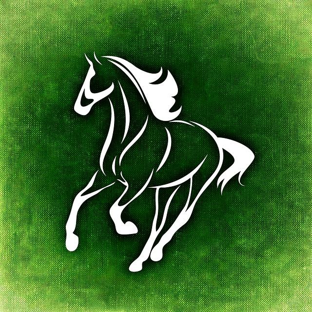 green horse www.craftedbytw.com